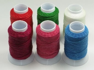 waxed linen reel