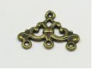 medium chandelier old gold