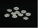 flower bead caps 5mm