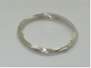silver plated 0.8mm wire