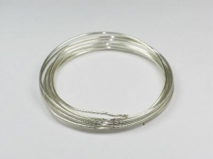 silver plated 1.5mm wire