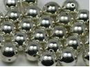 acrylic silver ball