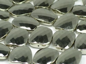acrylic-faceted trapezoid