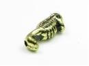 gold acrylic sea horse