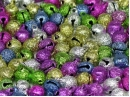 6mm glitter bells