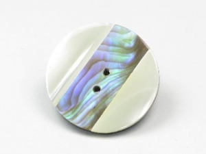 mother of pearl with paua shell