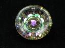 round vitrail button