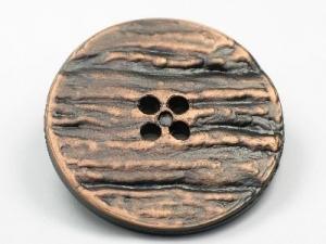 xl antique copper effect button
