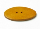 wood oval button