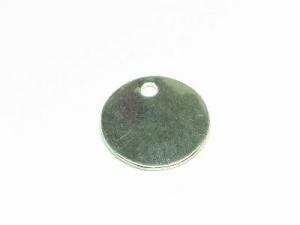 plain disc charm