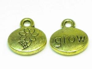 Flower/grow charm