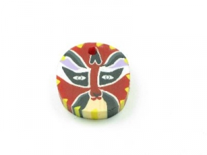fimo red face