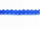 frosted cobalt blue