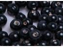 black opaque 8mm round