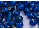 blue transparent 8mm round