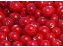 red opaque 8mm round