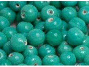 green turquiose opaque 8mm