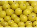 yellow 8mm round