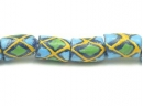 blue tube yellow/green diamond