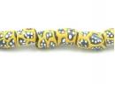 black tube yellow pattern