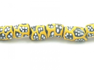 black tube yellow pattern