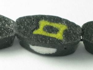 black/olive rectangle