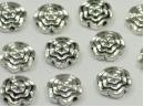 metal flower bead