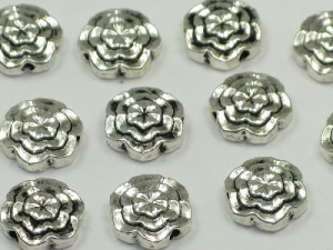 metal flower bead
