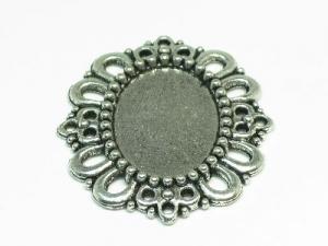 Metal decorative oval