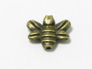 Metal bee bead