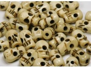 skull 12x7mm