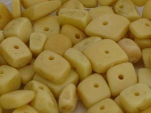 antique bone nuggets