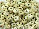 Alphabet beads bulk bag
