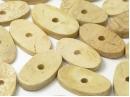wood oval disc