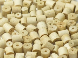 white wood spacer
