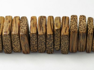 Coco wood square disc strand