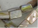 Natural shell nugget strand