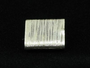 hill tribe silver brushed square