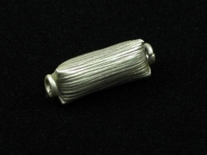 hill tribe silver brushed tube