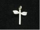 Thai hill tribe silver dragonfly charm