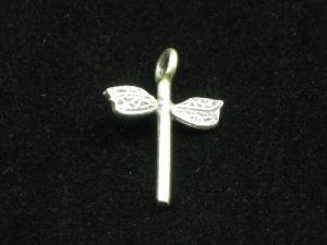 Thai hill tribe silver dragonfly charm