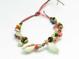 Pink cord/shell