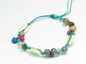 Blue cord/shell