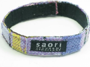 Purple wrist-band