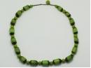 tagua barrel necklace