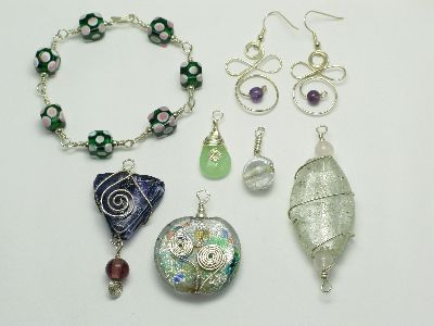 bead jewellery making classes beginners wire wrapping