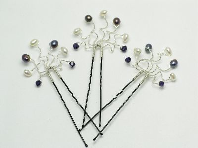 bead jewellery making classes - hair grip class photo 3