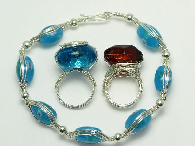 jewellery making classes bristol - intermediate wire wrapping photo 4