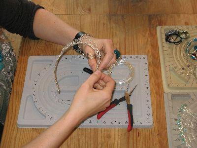 jewellery making courses bristol - tiara class - photo 1