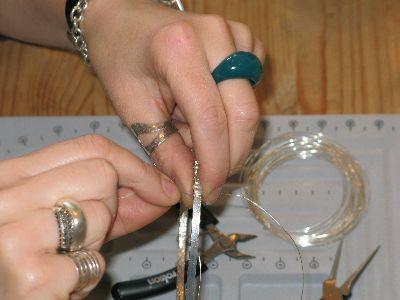 jewellery making courses bristol - tiara class - photo 2